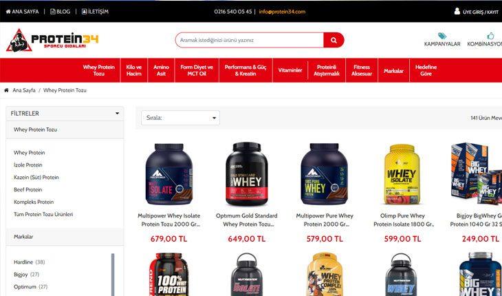 Protein Tozu Fiyatları